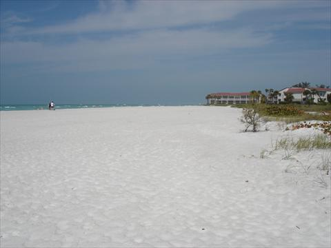 Beach- white powdery sand