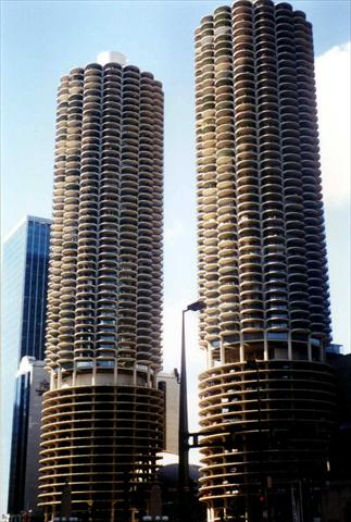 Marina City Building Complex